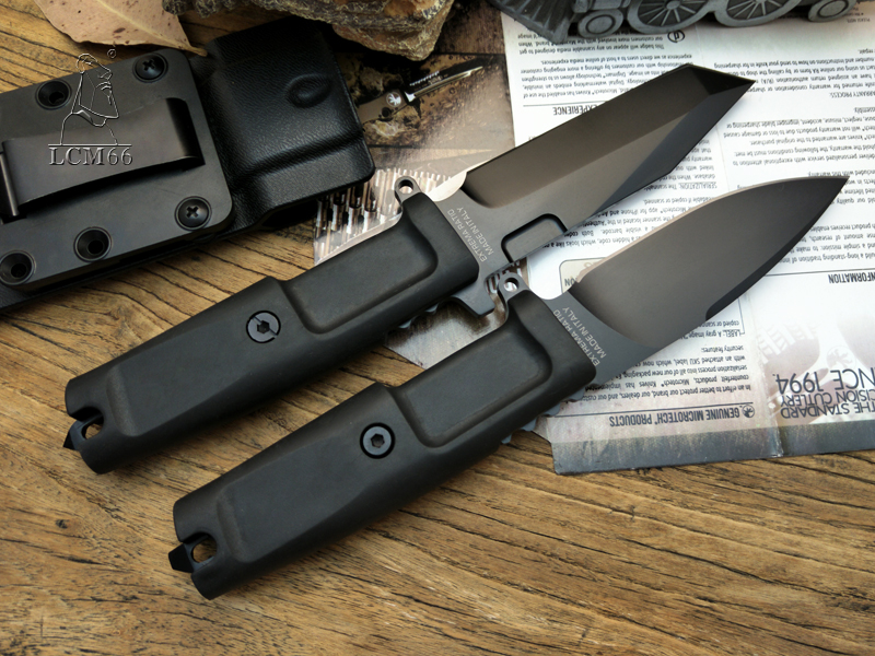 Image 3 - LCM66 high quality Fixed Blade Knife 7Cr17Mov Blade TPR Handle Hunting tool Extrema Camping knife outdoor Survival tool  Ratio-in Knives from Tools