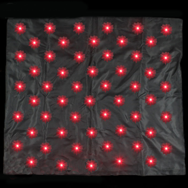 Blendo Bag With Red Lights Magic Tricks Produce Lights Magie Stage Illusion Accessories Gimmick Props Mentalism Funny