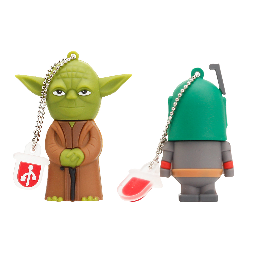 Crazy Hot Star Wars Cartoon Flash Memory Stick 32GB 64GB 128GB 8GB 16GBUSB Flash Drive 2.0 High Quality Pen Drive Robot Pendrive (4)