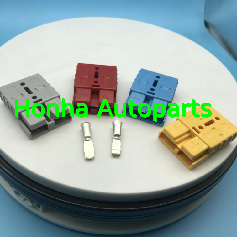 1/2/5 pcs/lots SMH 2P <font><b>175A</b></font> <font><b>600V</b></font> Power <font><b>Connector</b></font> <font><b>Battery</b></font> Plug UPS Connectors kits For forklift electrocar with 4AWG terminal image