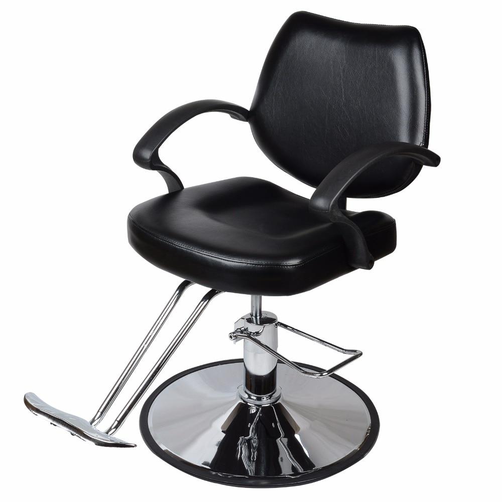 Shellhard Adjustable Barber Chair Reclining Hydraulic Barber Salon Cutting Hairdressing Chair home office furniture the barber chair hairdressing chair hydraulic chairs hairdressing chair
