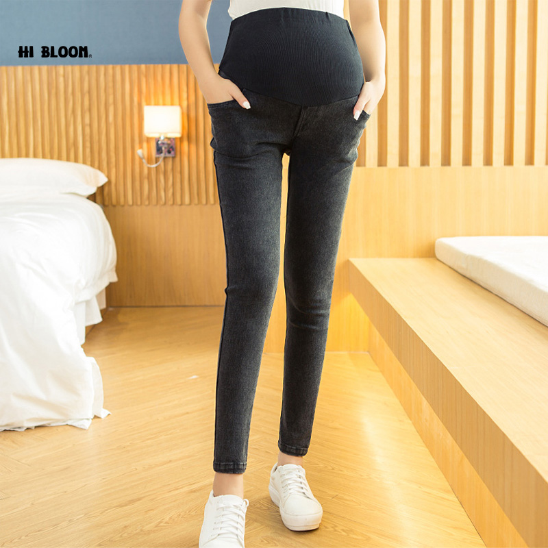 Elastic Waist Cotton Maternity Clothing High Quality Maternity Pants Overalls Pant for pregnancy Women High Waist Pregnancy Pant