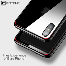 CAFELE HD Back Film for iphone X Glass Ultra Thin Back Screen Protector for iphone X Transparent Tempered Glass for iphoneX Film