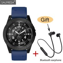 SALFRESA SW98 Men SmartWatch  Support SIM Card Bluetooth Smartwatch for IOS Android Phone Clock Wristwatch Smart wearable device