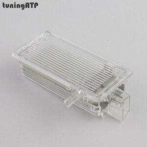 Светодиодный футляр для перчаток Mini One Cooper S Clubman, 1 шт., яркий белый, R50, R52, R53, R55, R56, R57, R60