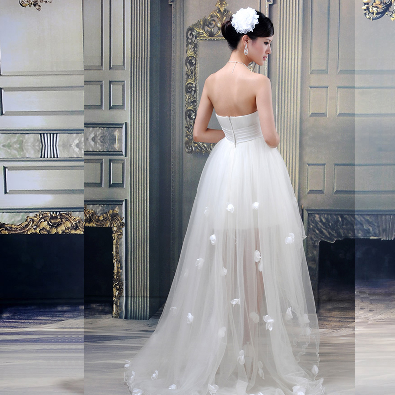 Dresses for big ladies picture more detailed picture for High low wedding dresses cheap