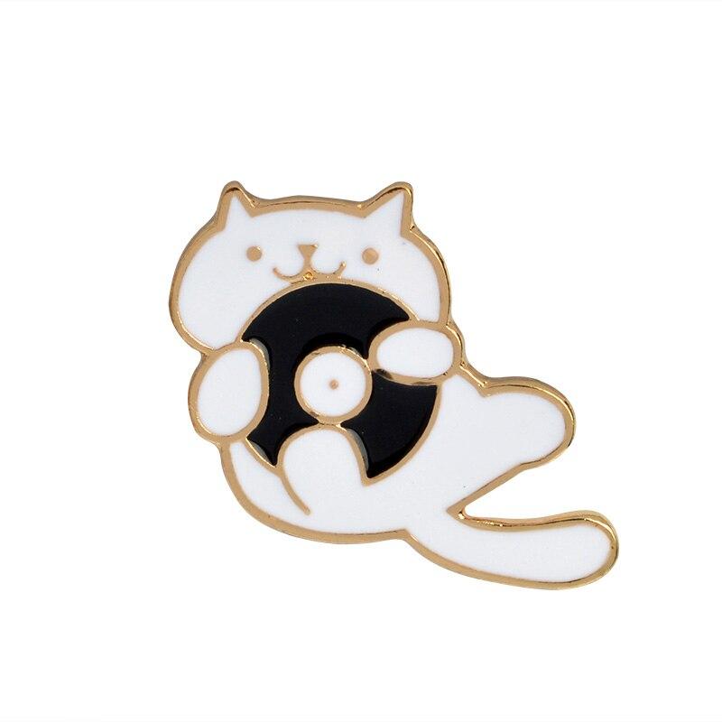 Cat Pin Badge