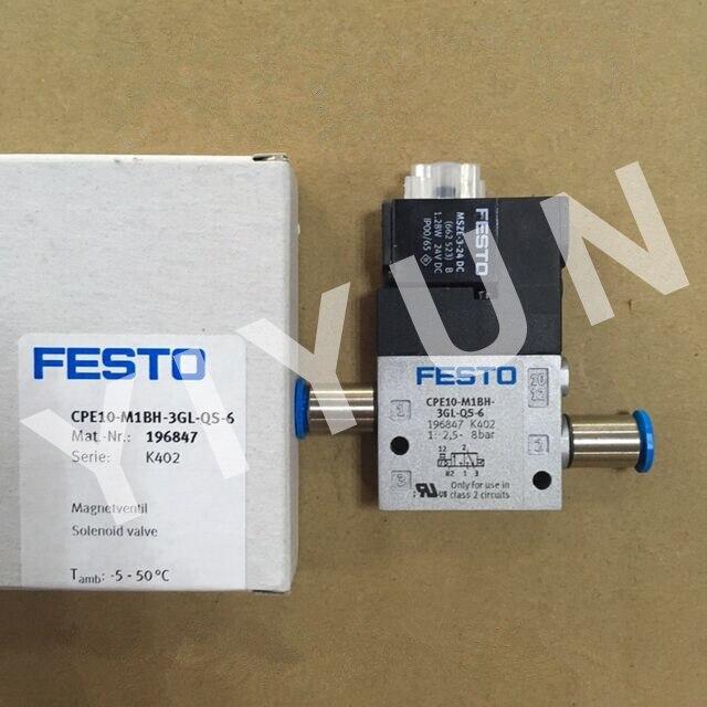 все цены на CPE10-M1BH-3GL-QS-6 196847 CPE10-M1BH-5L-M5 196881 CPE10-M1BH-5J-QS-6 196877 CPE10-M1BH-3GLS-M5 196848 FESTO Solenoid valve