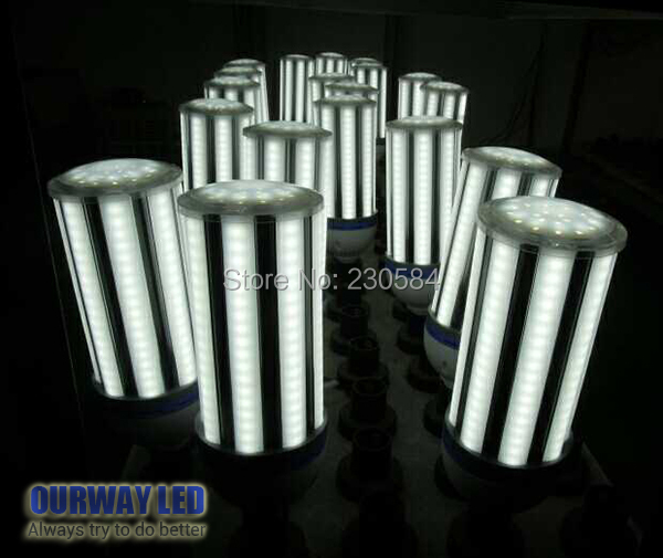 e27 e40 LED Corn Light frosted cover Soft light Energy Saving High Power LED Light to Replace the Conventional CFL Bulb toika 2pcs lot 80w100w120w e27 base aluminum corn light high power led bulb outdoor smd5730 waterproof using