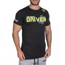 2016 AUFSTIEG Fitnesse T-shirt männer Druck Bodybuilding kurzarm poleras hombr moda Mode O Neck camiseta masculina