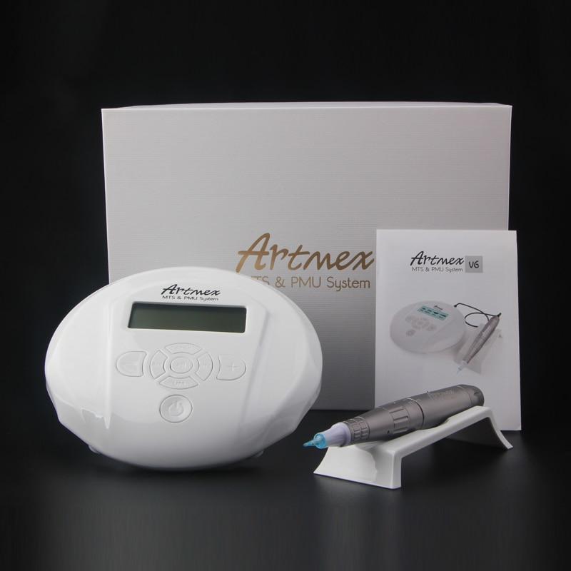 Image 5 - Dropshipping 2019 Permanent Makeup Tattoo Machine Artmex V6 Eye Brow Lip Rotary Pen MTS PMU System With V6 Tattoo Needle-in Tattoo Guns from Beauty & Health