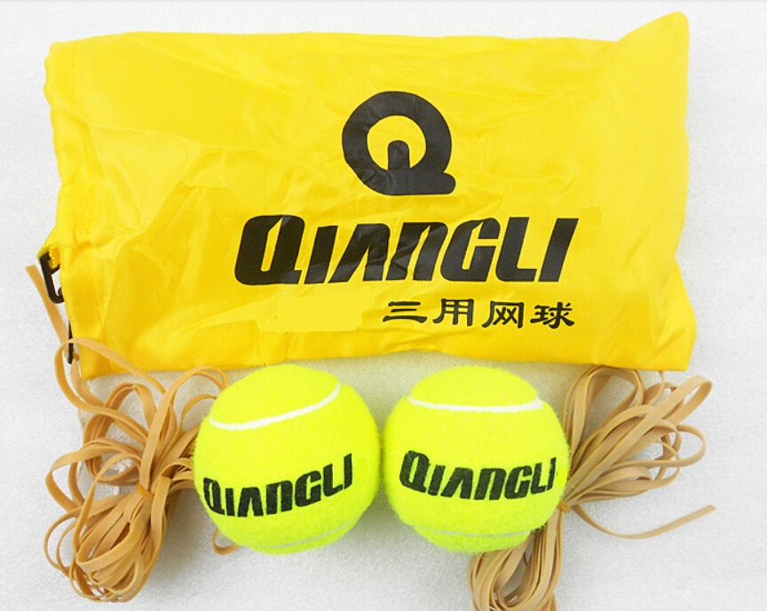 2pcs/set NEW Tennis Trainer Practice Single Train Training Ball Balls Partner Set For Beginner With Carrying Case