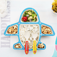 Baby Tableware 3Pcs/Set Cute Cartoon Dishes Kids Plate Bowl Eco-friendly Children Training Dinnerware