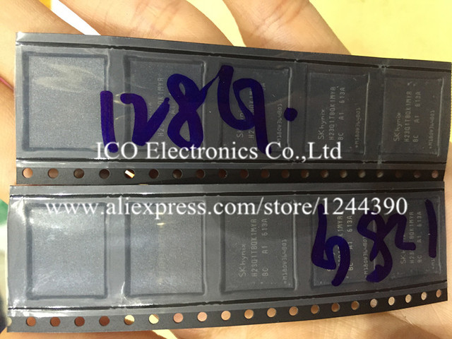 For iPhone 6 6G 4.7 inch 128GB Hardisk NAND flash memory IC HD chip Programmed with imei serial NO. iCloud unlock
