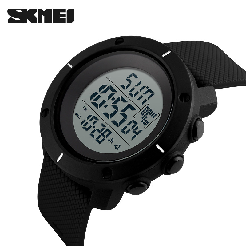 <font><b>SKMEI</b></font> Electronic New Men Sports Watches Military LED Digital Wrist Watch Mens Fashion Simple Waterproof Reloj Men's Wristwatches image