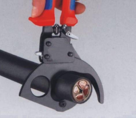 Taglierina per cavi a cricchetto di alta qualità LK-250 per il - Utensili manuali - Fotografia 6