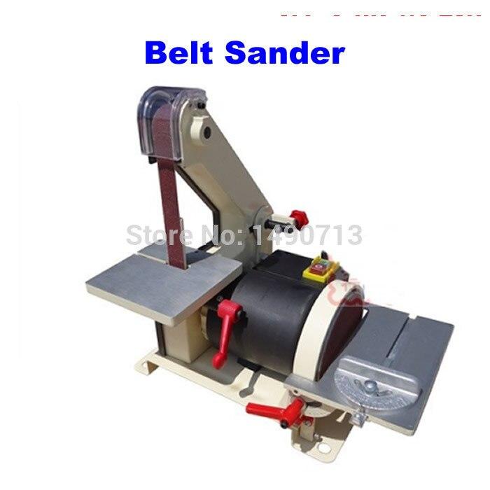 25 * 762mm JS0013 electronic Belt Sander, polishing machine & Vertical Grinder vertical type abrasive belt machine polishing grinding small bench 915 sand belt
