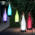 Подвесная лампа на солнечной батарее  водонепроницаемая Подвесная лампа в виде бутылки вина  сада  ночного освещения
