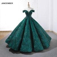 J66661 jancember luxury gowns quinceanera dress 2020 off shoulder sweetheart sweet sixteen ball dress платья детские бальные