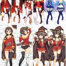 Cover-Case Dakimakura-Covers Body-Pillow Konosuba Megumin Anime Hugging Japanese World