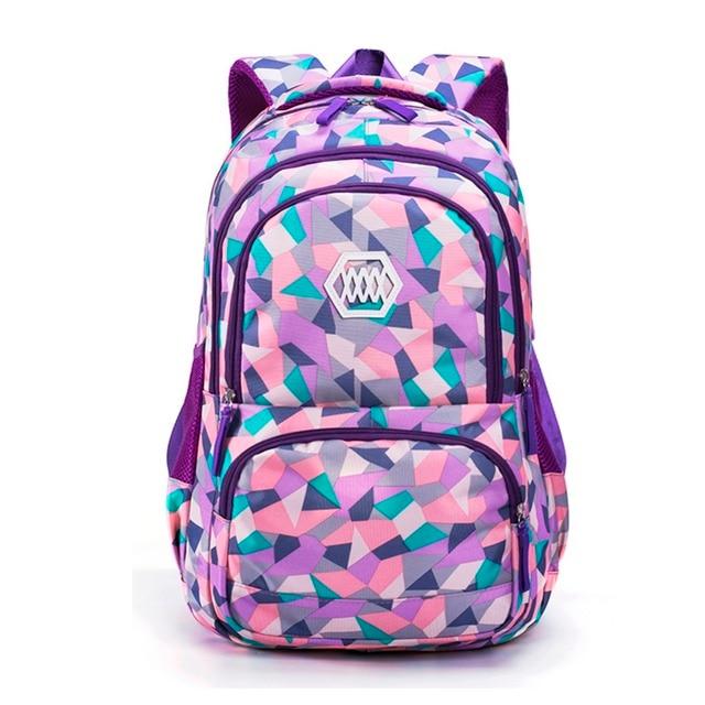 2020 Hot New Children School Bags For Teenagers Boys Girls Big Capacity Backpack Waterproof Satchel Kids Book Bag 2