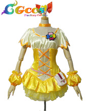 CGCOS Free Shipping Cosplay Costume Fresh Pretty Cure ! Cure Pine Uniform New in Stock Halloween Christmas Party(China)