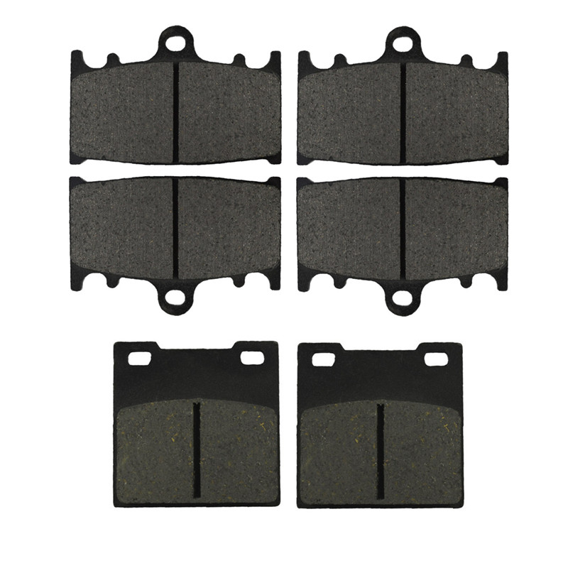 Motorcycle Parts Front & Rear Brake Pads Kit For KAWASAKI ZZR1100 ZZR 1100 1993-2001 ZXR750 89-95 ZX7R 91-95 ZZR1200 ZX1200C цена