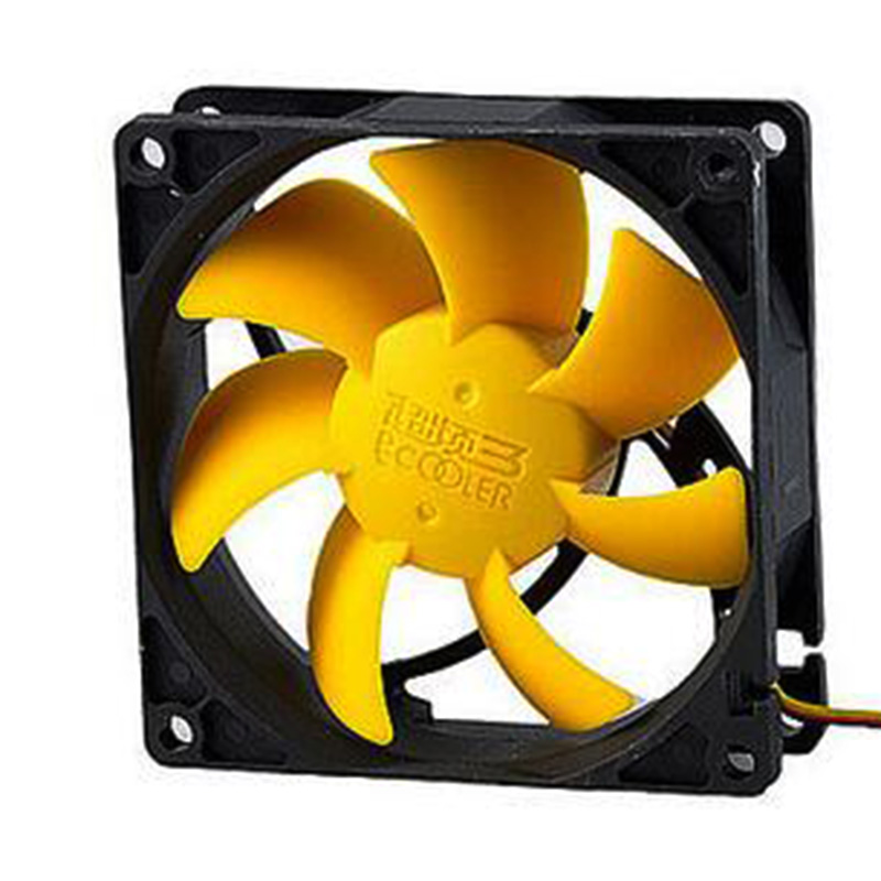 Super strong wind 7 Cyclone leaf 80(L)x80(W)x25(H) <font><b>12</b></font> v F82Y Computer main box 8 <font><b>cm</b></font> ultra-quiet cooling <font><b>fans</b></font> Speed 1400RPM image