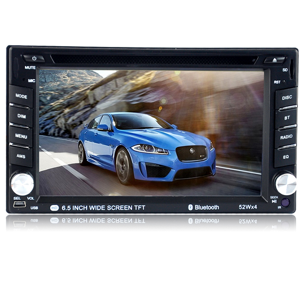 7 Remote control Car Radio overseas warehouse DVD/CD Player 2 Din Bluetooth Touch Screen USB/SD/AUX Stereo hand-free cimiva 6 2 inch tft audio dvd sb sd bluetooth 2 din car cd player with automatic memory play car dvd player 12v