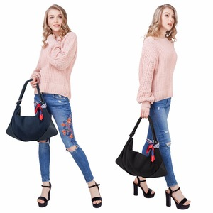 Image 3 - Women Handbags Real Suede Leather Shoulder Bag Ladies Fashion Hobo Bags Casual Leisure Shopping Sac A Main Femme Bolsos Mujer