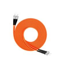 FC to ST Multimode fiber patch cord  FC/ST Fiber Patch Cable UPC Polish MM Optical Fiber jumper Duplex OM2 OFNP 3m 5m 10m 15m zhongshan dag industry sales of new cnc machine tool g380 5m fiber optical fiber cable line