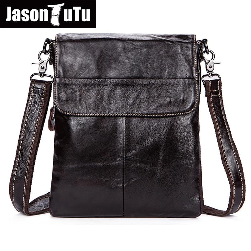 Hot!Men messenger bags High quality Soft genuine leather bag Vintage men shoulder bags luxury brands men casual briefcase HN205 все цены