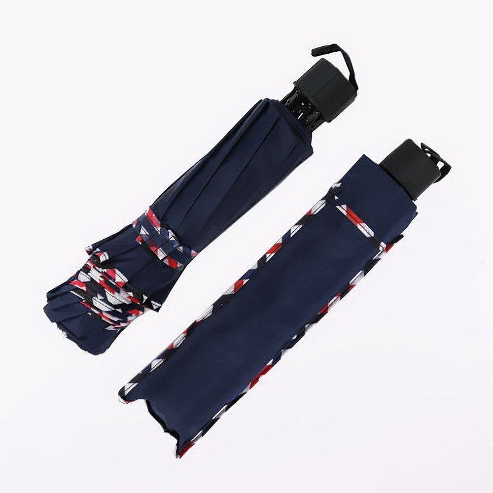 Sunny Umbrella Dual Purpose Super Reinforced Three Fold Male Business Umbrella JJ-YS54