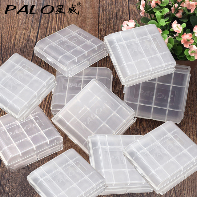 new style d9ccf 08407 US $3.85 30% OFF|Battery Container 10pcs/lot Portable Small Battery Case  Holder Hard Plastic Pretty Storage Boxes for AA AAA Batteries -in Battery  ...