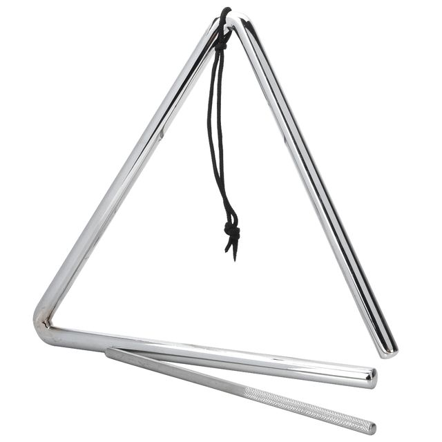 Musical Instrument Rhythm Percussion Metal Rod / Triangle Frame ...