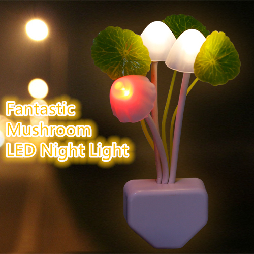 Wonderful Colorful Fantastic Avatar Mushroom Wall LED Night Light Simulate Nature  Environment For Good Sleeping For Children Kids Family In Night Lights From  Lights ... Amazing Design