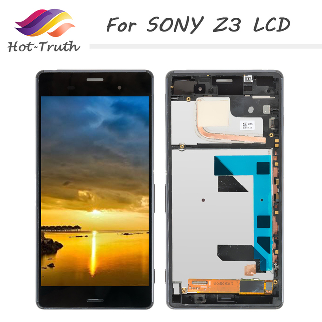 Display Lcd completo per SONY Xperia z3 - Z3 Dual D6603 D6633 D6653 D6683 D6616  5
