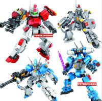 Armadura de mirage para niños, superrobot, bloques de construcción, FYR-11, GUNDAM contra FYR-07 AKO, juguetes de bloques de modelismo, colección
