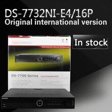 En la acción Envío Libre DS-7732NI-E4/16 P 32CH NVR con 4 SATA y 16 POE Inglés versión, salida VGA HDMI, alarma Plug & play NVR