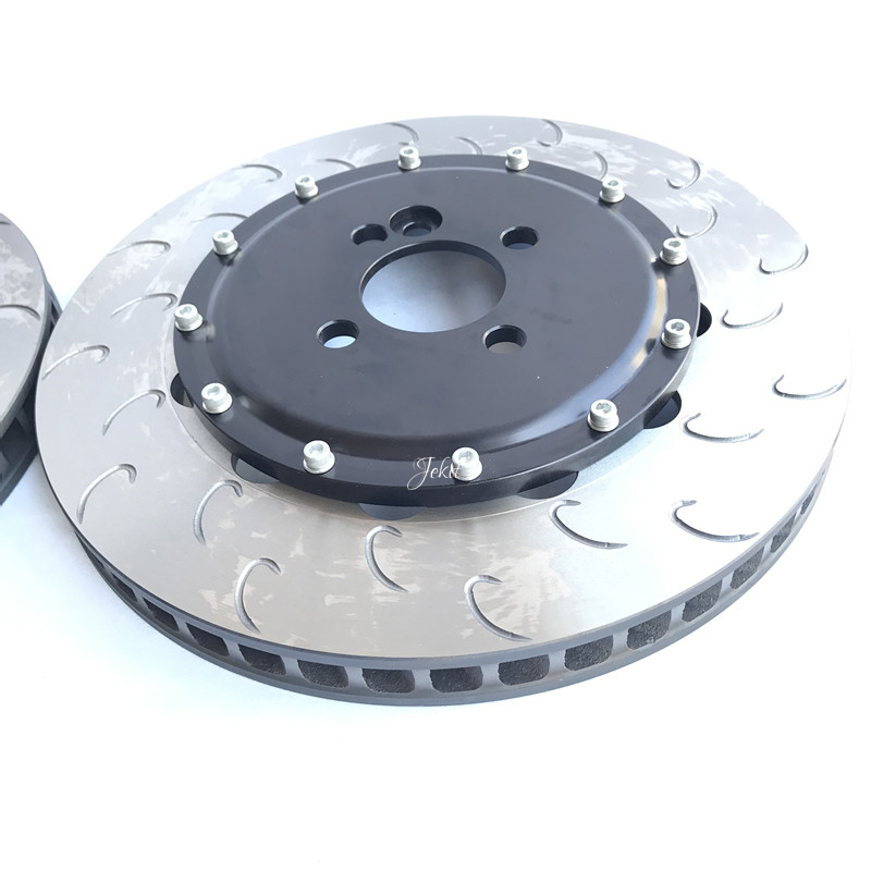 Jekit brake disc with center caps center hole 61mm PCD 4*100*D13 for Honda EK6/EK3 front brake systems
