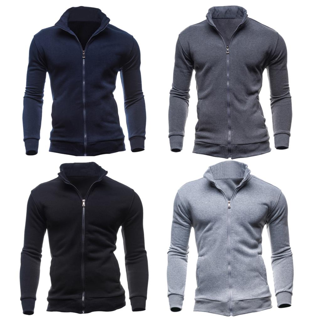 Mens jackets sale - Hot Sale Jackets Men Sweatshirts Hoodie Suit Men S Tracksuits Black Light Gray Dark Gray Navy Size