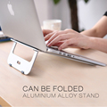"Newest Aluminum Laptop Stand Tablet Holder Cooling Desk Pad for MacBook Pro Air/ Notebook 11"" to 15"""