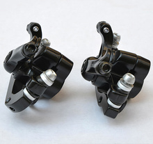 Buy Free shipping 2017 Yinxing disc brakes mountain bike mechanical Calipers Bike MTB bicycle parts 1 Pair