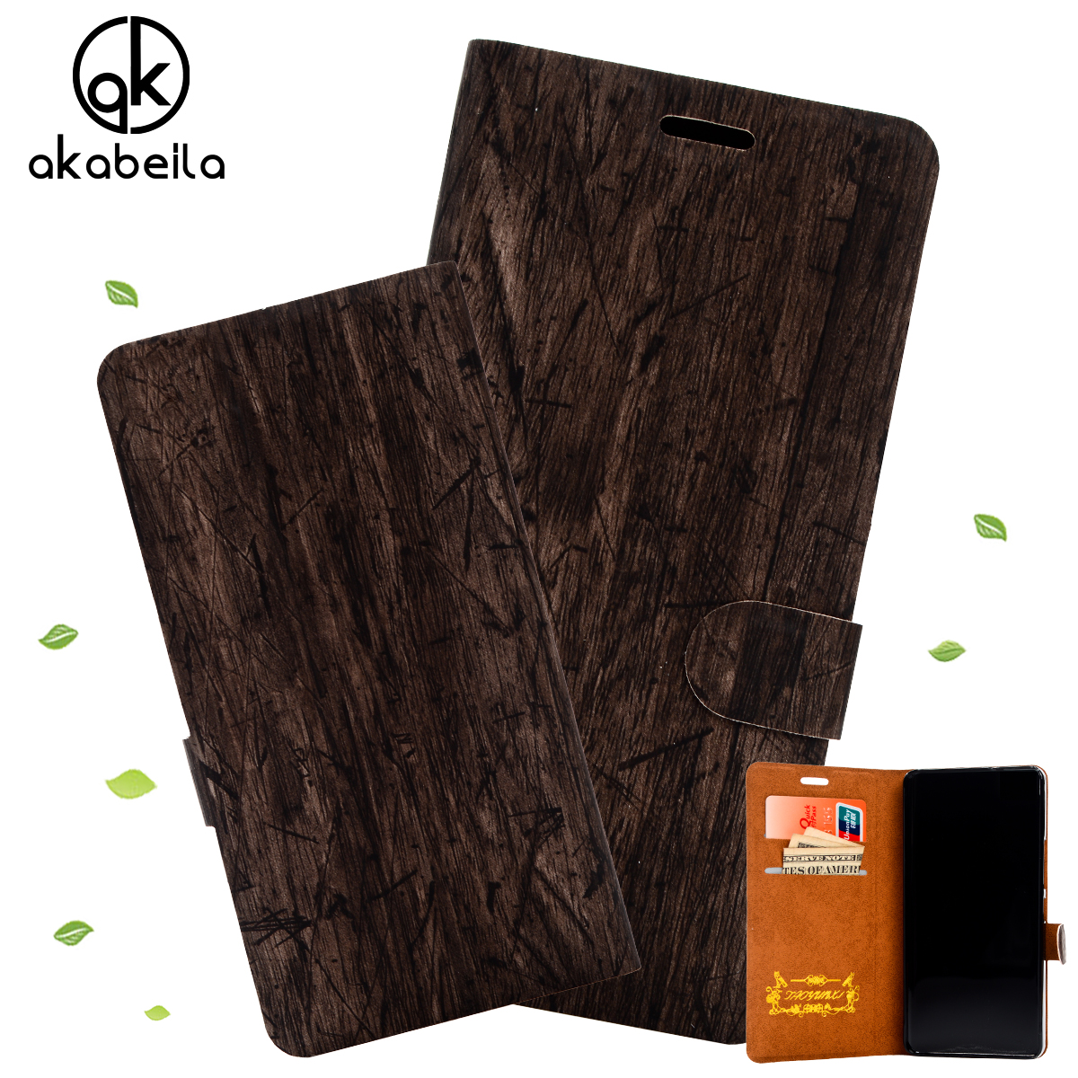 New Come Slim Wood Grain PU Leather Case for Xiaomi mi4i mi 4i X9 Wallet Style Fashion Flip Phone Cover 6 Colors Available