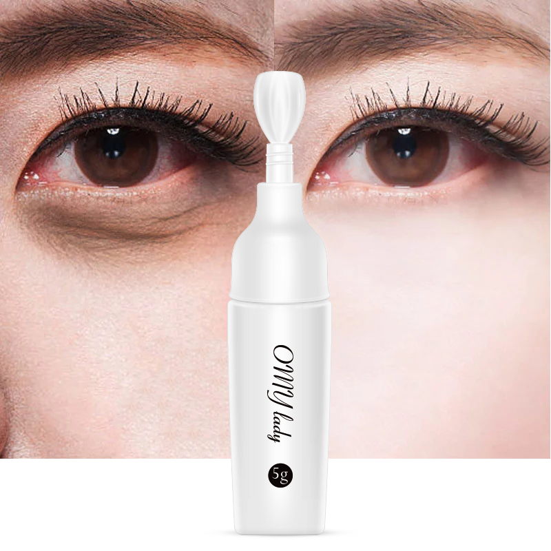 OMY LADY Eye Cream Anti Wrinkle Anti-Aging Black Circle Moisturizing Anti Puffiness Eye Care Serum Gel Small Sample TSLM1