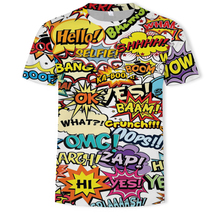 Hip hop 3d T-shirt Anime Funny T Shirts Hop Beach Mens Clothes Graffiti