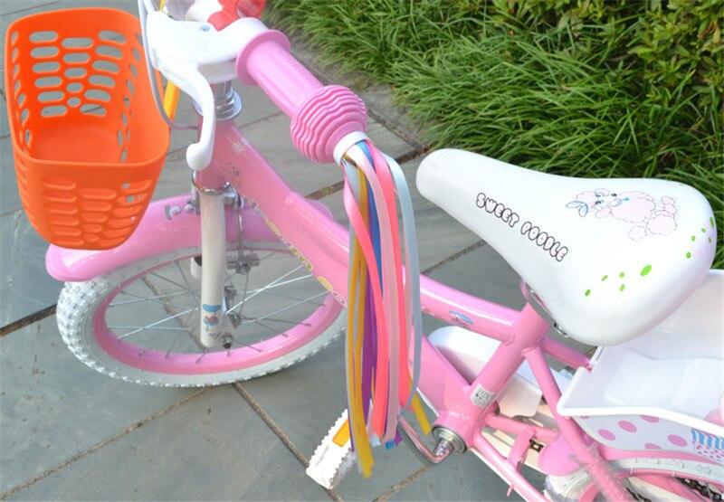 High Bicycle Bike Cycling Tricycle Kid Girl Handlebar Colorful Streamers Tassels