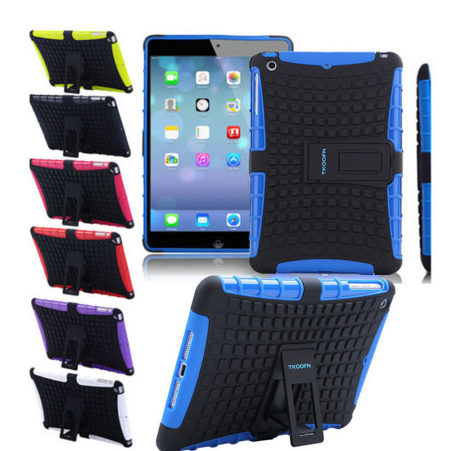 Shockproof Armor Protector Case Cover For i Pad Mini 1/2/3/ 4 Air 2 Pro 9.7 NEW UM