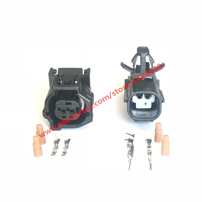 20 Sets 6188 4797 6189 4979 Sumitomo Lid Switch Hood Lock ABS Speed Plug 12416 90980 12416 For SUBARU Toyota Honda-in Connectors from Lights & Lighting    1
