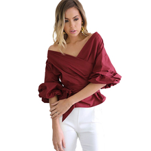 Maternity 2018 T-shirts for Women Strapless Loose Cross Straps Maternity Wear Maternity Clothes Women Maternity Fashions